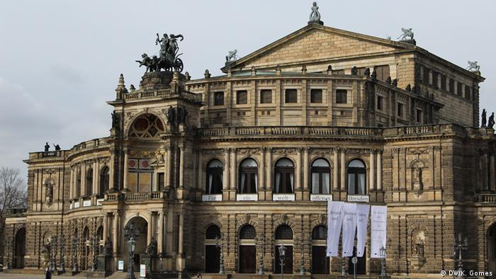 Die Semperoper in Dresden (DW/K. Gomes)
