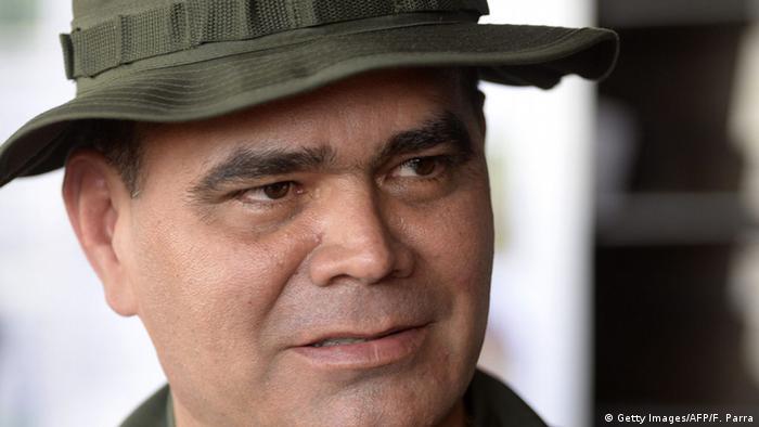 Venezuela Verteidigungsminister Vladimir Padrino Lopez (Getty Images/AFP/F. Parra)