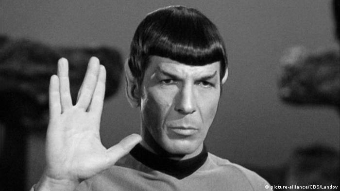 Leonard Nimoy als Mr. Spock (Foto: dpa)