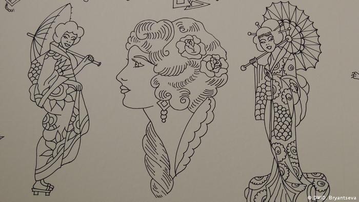 Образцы татуировок