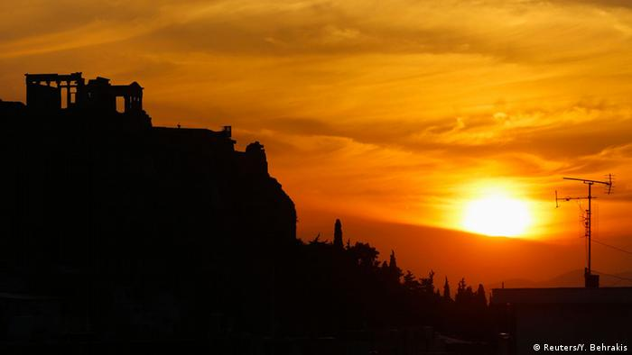 Sunrise at Acropolis, Greece