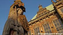 Deutschland Bremen Denkmal Bremer Roland