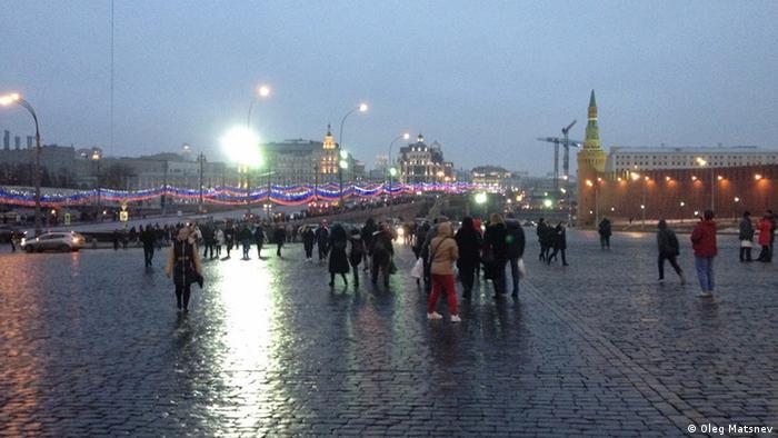 Russland Tatort des Mordes von Boris Nemzow in Moskau (Bildergalerie)