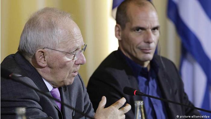 Griechenlands Finanzminister Varoufakis in Berlin