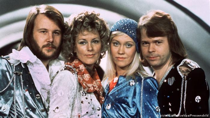 ABBA at the Eurovision Song Contest 1974, Copyright: picture-alliance/dpa/Pressensbild