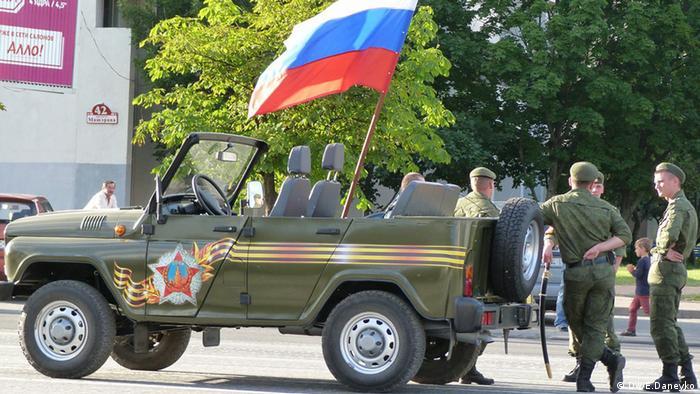 Российская военная техника на параде в Минске