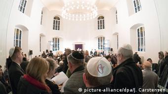 Deutschland Cottbus Einweihung Synagoge Juden Kippa