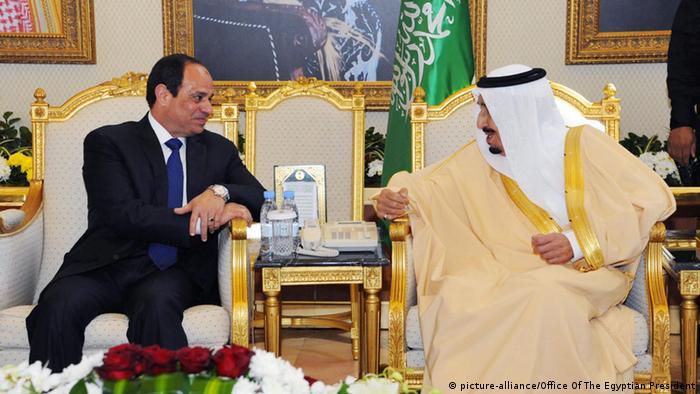Saudi Arabien Riad Al-Sisi bei Salman Bin Abdulaziz