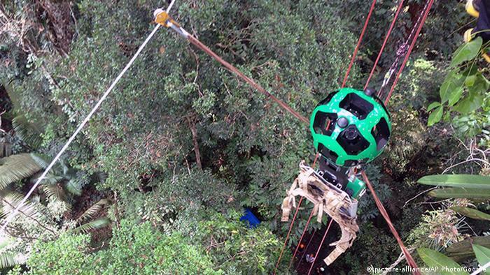Google Aufnahmen vom Amazon Regenwald mit dem Trekker
