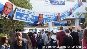 Campania electorală din Israel