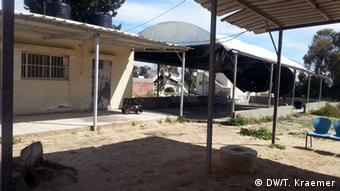 The Rafah border crossing office (Photo: Tania Krämer, DW)