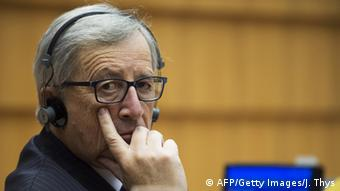 EU Kommissionspräsident Jean-Claude Juncker