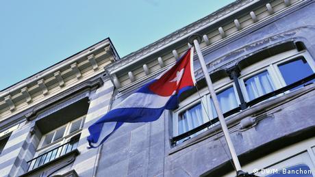 Kubanische Botschaft in Brüssel (DW/M. Banchon)