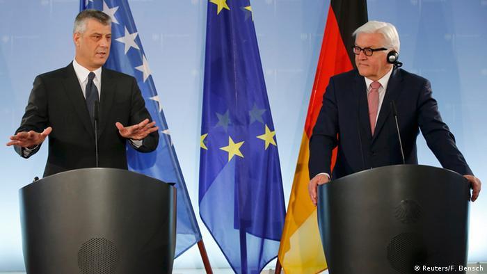 Deutschland Kosovo Besuch Hashim Thaci bei Frank-Walter Steinmeier