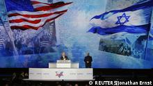 Israel's Prime Minister Benjamin Netanyahu addresses the American Israel Public Affairs Committee (AIPAC) policy conference in Washington, March 2, 2015. Netanyahu said on Monday that the alliance between his country and the United States is stronger than ever and will continue to improve. REUTERS/Jonathan Ernst (UNITED STATES - Tags: POLITICS)