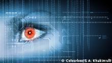 Symbolbild Digitales Auge