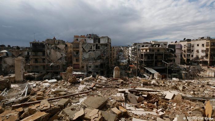 Zerstörtes Aleppo (Foto: Hosa Katan/Reuters)