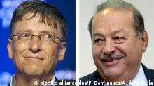 Bill Gates und Carlos Slim