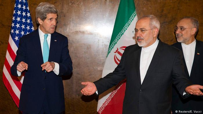 ملاقات جان کری و محمد جواد ظریف در مارس ۲۰۱۵ در چارچوب مذاکرات هستهای