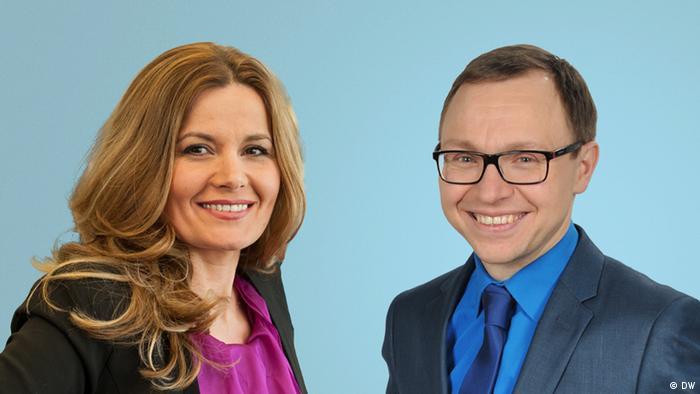 Акция DW Мы - это Германия: Линдита Арапи и Захар Бутырский
