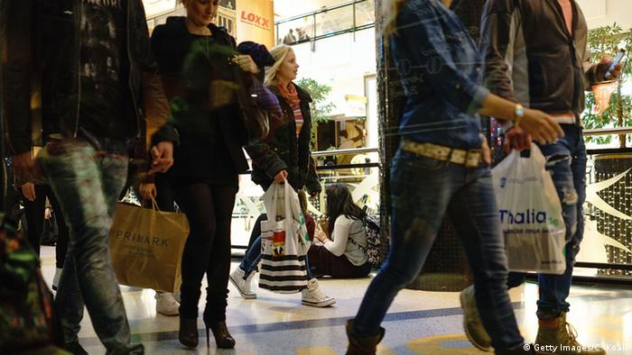 German shoppers (Photo by Carsten Koall/Getty Images)