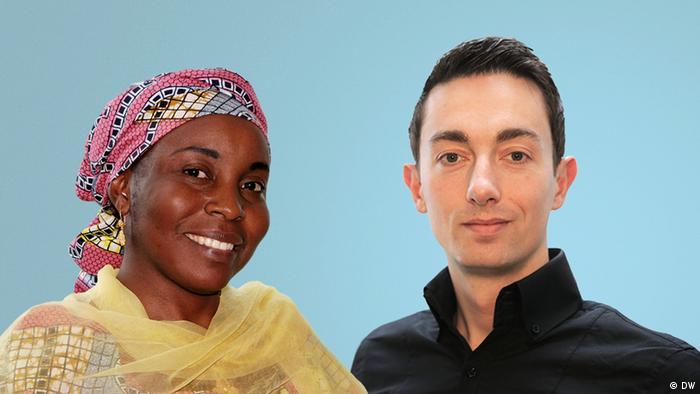 Акция DW: Мы - это Германия: Зейнаб Мохаммед-Ахмед и Йоша Вебер