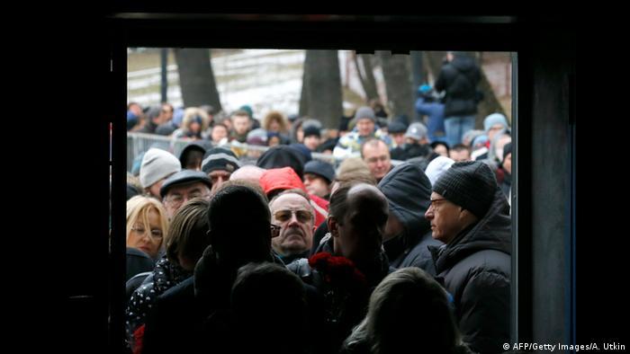 Russland Beisetzung Nemzow