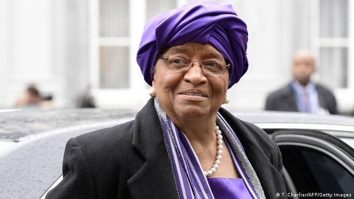 Ellen Johnson Sirleaf foi a primeira presidente mulher de uma nação africana