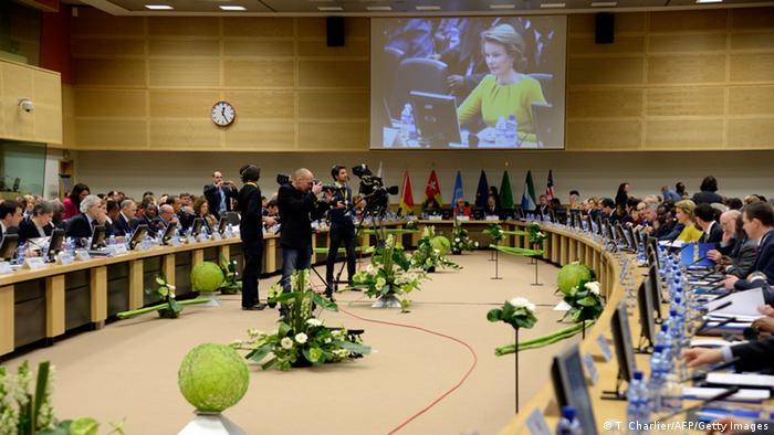 Conferencia Internacional de Alto Nivel sobre el Ébola celebrada en Bruselas.