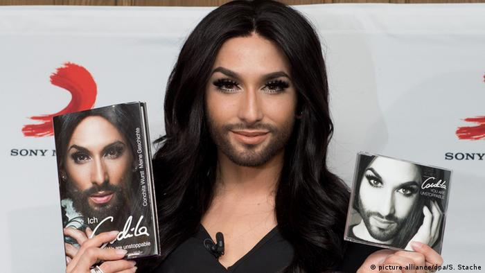 Dragqueen Conchita Wurst PK