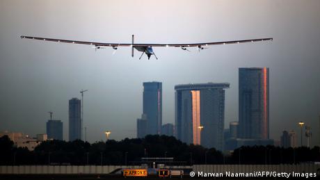 Solar Impulse 2 Abu Dhabi