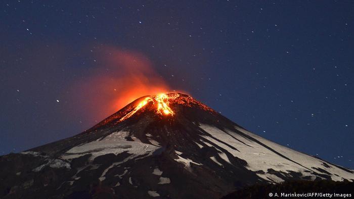 Chile Vulkan Villarrica Ausbruch