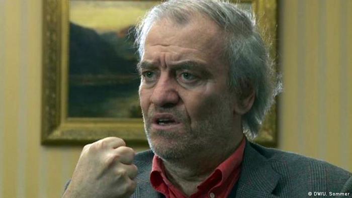 Валерий Гергиев во время интервью в Берлине