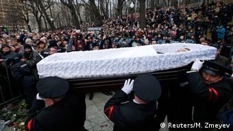 Прощання з Борисом Нємцовим у Москві