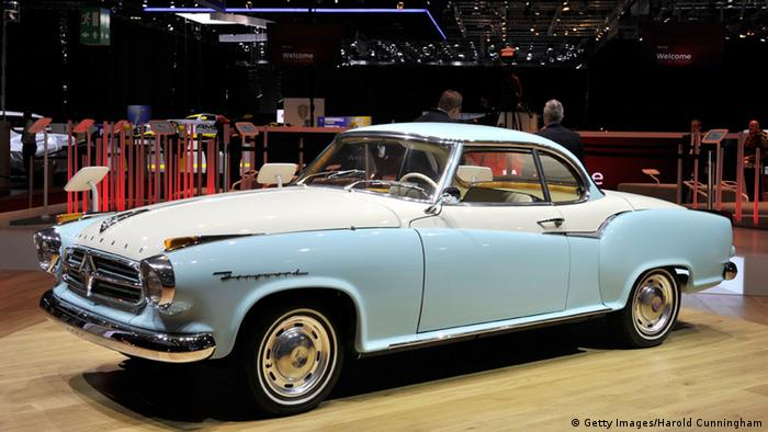 Genf Internationale Motor Show Borgward Isabella