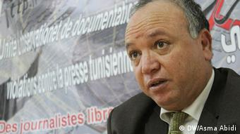Tunesien Mahmoud Dhouadi Tunis Center for Freedom of Press