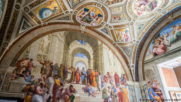POPE LEO XII ROMAN CATHOLIC PAINTING ROME ART REAL CANVAS PRINT