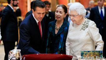 Meksički predsjednik kod engleske kraljice