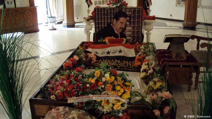 نتيجة بحث الصور عن قبر صدام حسين