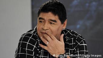 Diego Armando Maradona, eterno crítico de la FIFA.