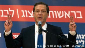 Isaac Herzog in Moshav Nir Moshe (Foto: picture alliance)