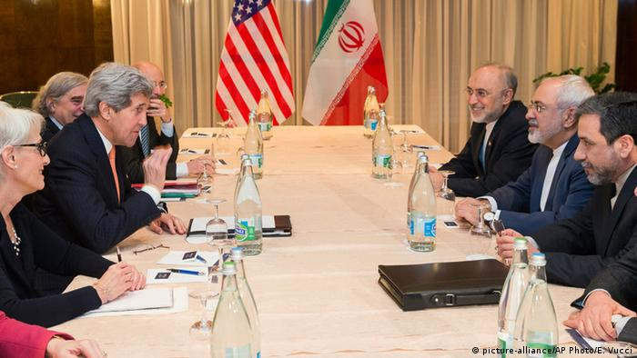 Iran USA Kerry mit Sarif in Montreux