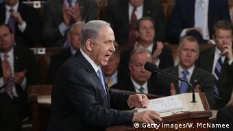 USA Benjamin Netanjahu Rede vor dem Congress