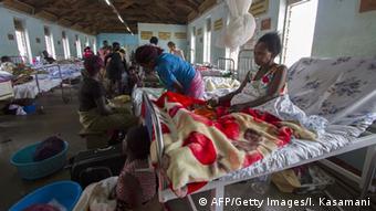 Uganda hospital ward