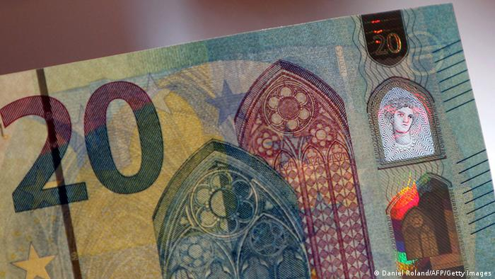 BdT neue 20 Euro Note (Daniel Roland/AFP/Getty Images)