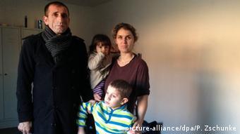 Deutschland Asylbewerber aus dem Kosovo in Heidelberg