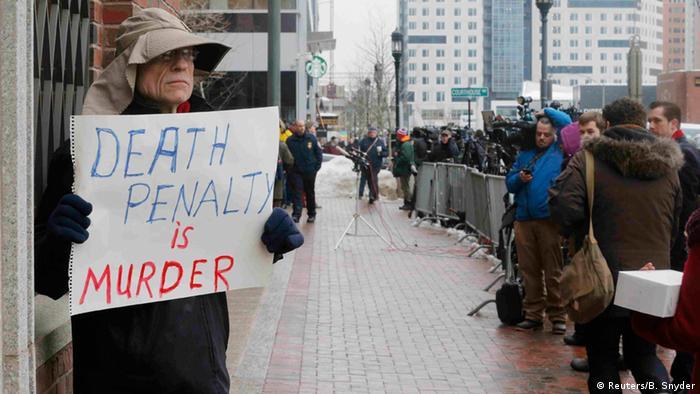 USA Boston Prozess Anschlag auf Marathon