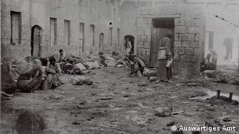 Pokolj u listopadu 1915. u Alepu. Povijesna fotografija.