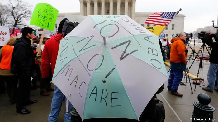 Anti Obamacare Demonstration in Washington