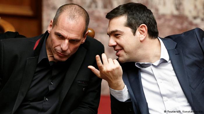 Griechenland Yanis Varoufakis & Alexis Tsipras